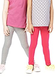 2 Pack Cotton Rich Assorted Leggings