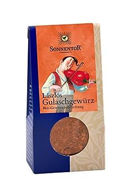 Sonnentor Laszlos Gulaschgewürz, 2er Pack (2 x 50 g) - Bio von Sonnentor - Gewürze Shop