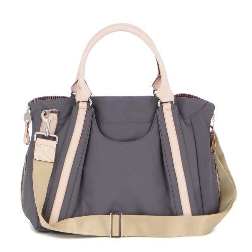 Danzo Diaper Hobo Bag, Slate front-94353