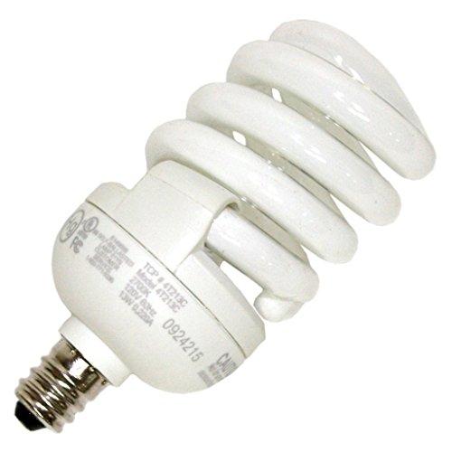 (12-Pack) TCP 4T213C 2700-Kelvin 13-watt T2 Full Springlamp E12