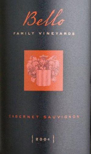 2004 Bello Family Vineyards Cabernet Sauvignon (Library Wine) 750 Ml