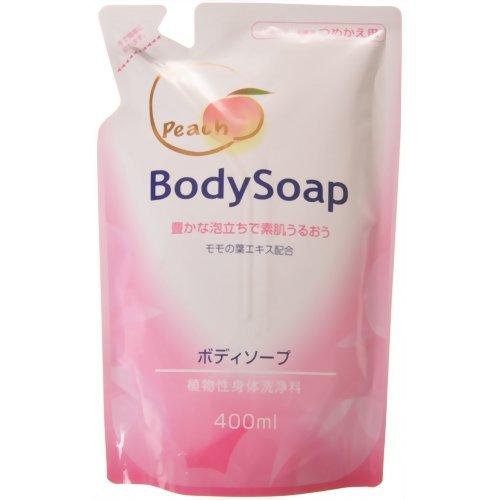 第一石鹸 桃の葉ボディソープ 替 400ml