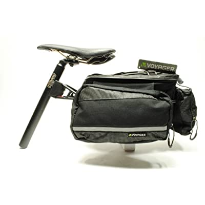 Amazon.com : Voyager Flex Max Bicycle Bike Seat Post Mounted Pannier