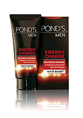 Ponds's Men Energy Charge Face Wash Brightening & Energizing Gel Moisturizer 20g