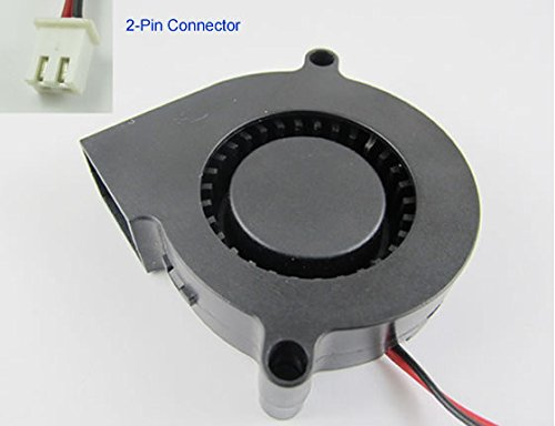 1pcs 1x Dc 5015s 5v 50mm X 15mm Turbine Brushless Cooling Blower Fan A9