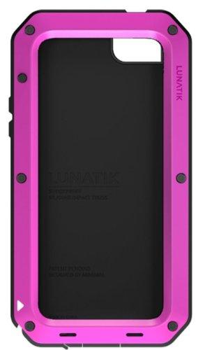 Special Sale Lunatik TT5L-005 Taktik Strike Impact Protection System for iPhone 5 - 1 Pack - Retail Packaging - Pink