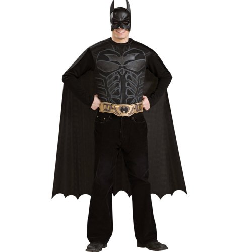 Batman Dark Knight - Batman Halloween Costume - Adult Standard One Size