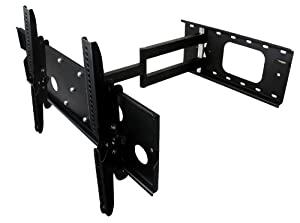 """Mount-It! Articulating LCD / LED / Plasma TV Wall Mount for 32-60 inch Flat Panel TVs with 26.5"""" Extension"""