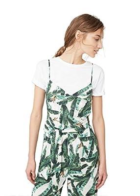 MANGO - Tropical print Day jumpsuit