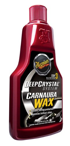 Meguiar's Deep Crystal Step 3 Carnauba Wax