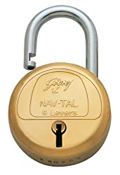 Godrej Locks Navtal 6 Levers - 2 Keys