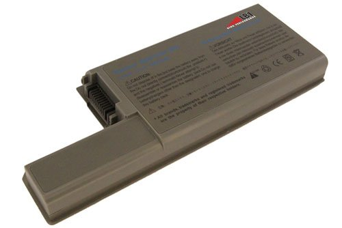 Dell New Replacement Laptop Battery for Dell Precision M65 M4300, Latitude D820 D830 D531 Li-ion, 11.1V, 7200mAh, 80wHr, 9 cells