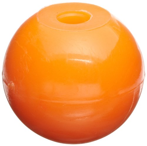 Molecular Models Orange Plastic Halogen Monovalent Atom Center, 17mm Diameter (Pack of 25)