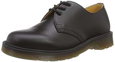 Dr. Martens 1461, Chaussures de ville mixte adulte - Noir (Black Smooth), 36 EU (3 UK)