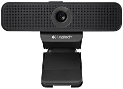 Logitech C920-C Webcam with 1080p HD Video Certified for Cisco Jabber