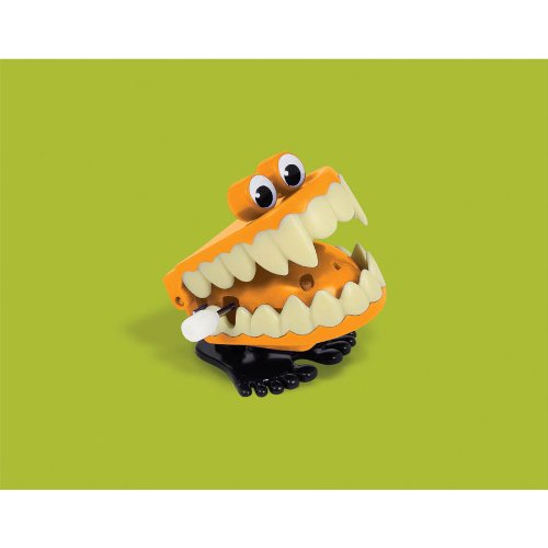 Halloween Plastic Chattering Teeth - 1