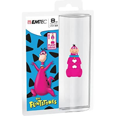EMTEC Flintstones 8 GB USB 2.0 Flash Drive, Dino