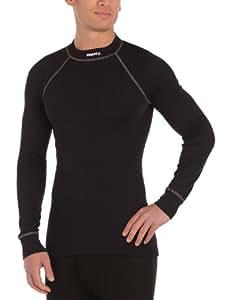 Craft Zero ras de cou manches longues Sous-vêtement chaud homme Noir XS