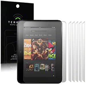 Terrapin Screen Protector Case for Amazon Kindle Fire HD (Pack of 6)