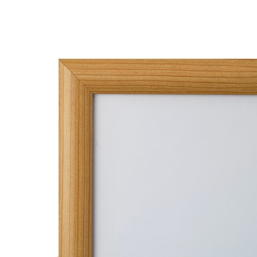 snap frame 11 x 17 inch light wood finish 1quot narrow