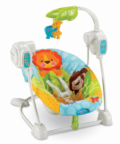 Similar product: Fisher-Price Space Saver Swing and Seat