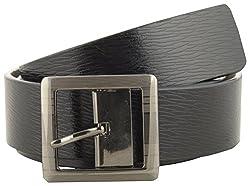Jackblack Men's Leather Belt (SEVP019, Black, 34)