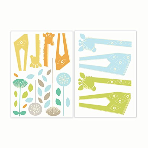 Lolli Living Zig Zag Zoo Wall Decals