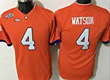 NCAA Football Jersey Youth 2015 Clemson Tigers 4 orange Youth Football Jersey X-L