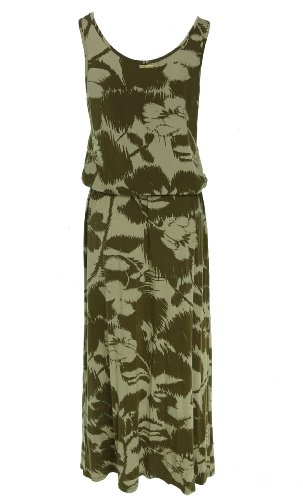 Michael Kors Stretch Maxi Dress Hemp M