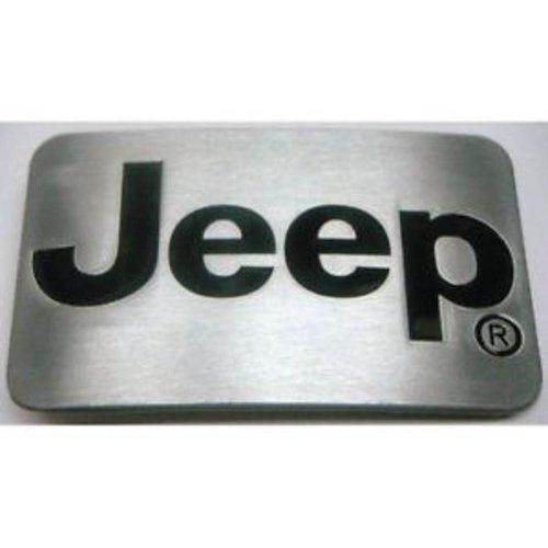 JEEP Logo Belt Buckle Brushed Steel Wrangler belt buckle