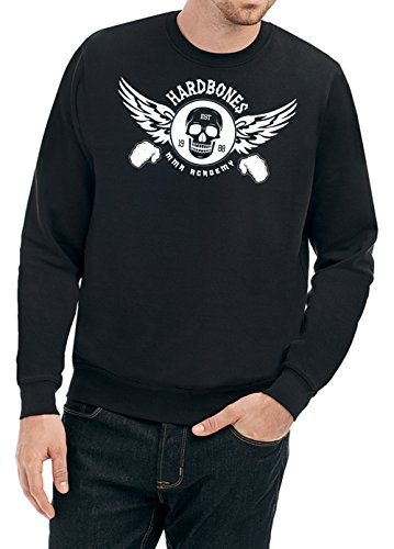 Hardbones Gym Sweater Nero Certified Freak-XXL