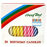 CANDLE BIRTHDAY ASST STRP CS 12 12 36 06 0876 CANDLE LAMP COMPANY FUEL AND CANDLES