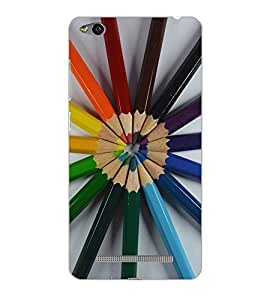 XIAOMI REDMI 3S PENCILS Back Cover by PRINTSWAG