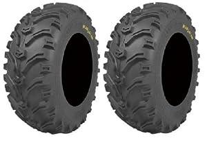 Pair of Kenda Bear Claw (6ply) ATV Tires [22×12-9] (2)