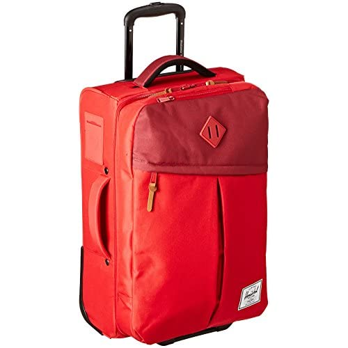 [ハーシェルサプライ] Herschel Supply Campaign Luggage 10041-00453-OS Red/Burgundy/Rust/Red Rubber (Red/Burgundy/Rust/Red Rubber)