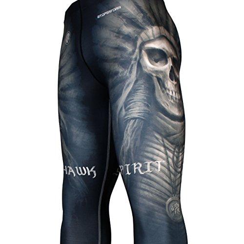 Btoperform da uomo per arti marziali, a compressione da corsa, da donna, per Yoga-Pantaloni lunghi Fy-102 [K]