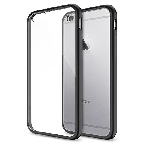 iPhone 6 ケース, Spigen®  [ クリア バンパー] Apple iPhone 4.7 (2014) ウルトラ・ハイブリッド The New iPhone アイフォン6 (国内正規品) (ブラック SGP10952)