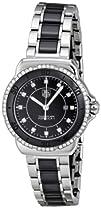 Tag Heuer Womens WAH1312.BA0867 Formula 1 Black Dial Dress Watch