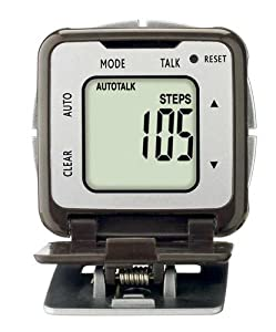 Sportline 343 Talking Calorie Counter Pedometer