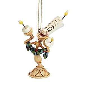 Disney Traditions Beauty And The Beast Lumiere Hanging Ornament