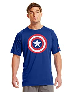 Under Armour Mens Under Armour® Alter Ego Captain America T-Shirt by Under Armour