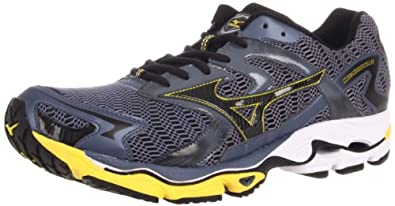 Mizuno Men's Wave Nirvana 8 Running Shoe,Folkstone Grey/Anthracite/Gypsum,12 D US