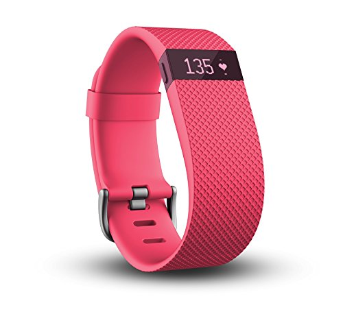 Fitbit charge hr wireless activity wristband pink small 5 4 6 2