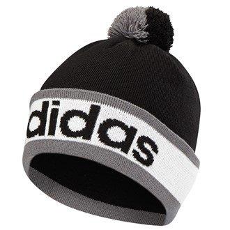 Adidas Golf 2015Da uomo ClimaHeat POM BEANIE Inverno Wooly Cappello, Uomo, Black, Taglia unica (uomo)