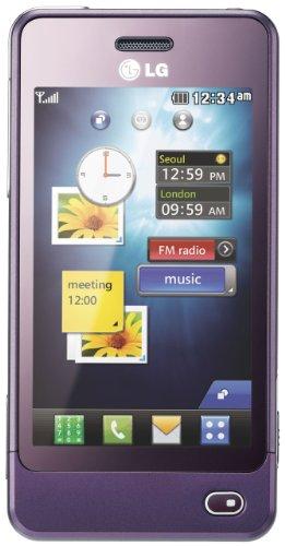 LG GD510 POP Smartphone (Edge, MP3, 3 MP Kamera, Bluetooth)  lila