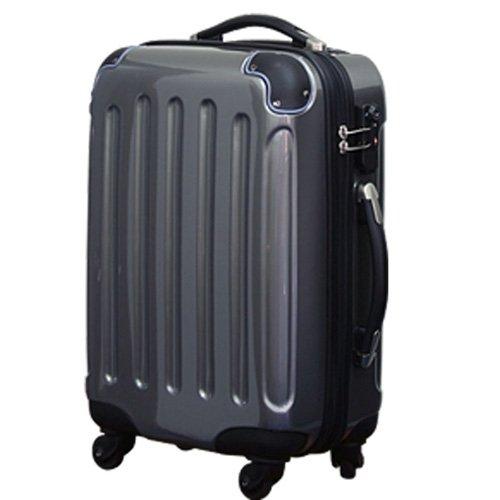 モア 超軽量ファスナータイプスーツケース 機内持込可能サイズ N6260-SS グレー