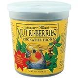 Lafeber Company Nutri-Berries Cockatiel Pet Food, 20-Pound