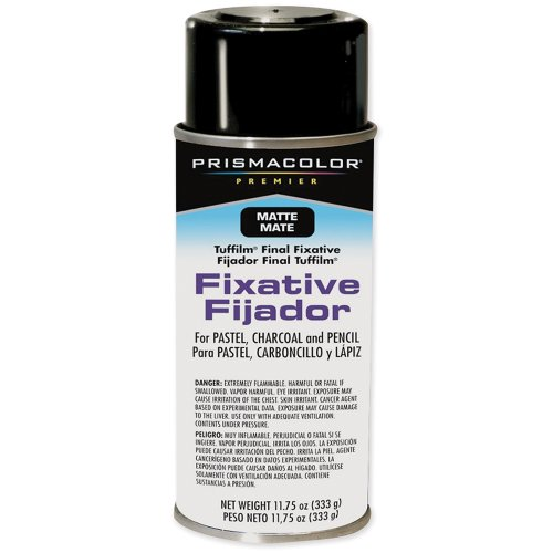Sanford Prism color Premier Tuffilm 11-3/4-Ounce Final Fixative Aerosol Spray, Matte
