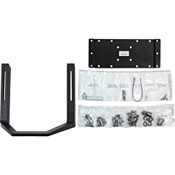Ergotron, Monitor Handle Kit Mounting Component ( Handle, Interface Plate ) Black Screen Size: 32\