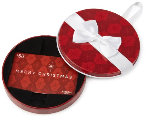 amazoncom-50-gift-card-in-a-red-ornament-tin-merry-christmas-card-design